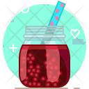 Currants Smoothie Drink Icon