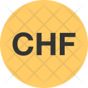 Currency Symbol Switzerland Icon