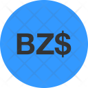 Currency Symbol Belize Icon