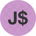 Currency Symbol Jamaican Icon