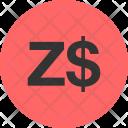Currency Symbol Zimbabwe Icon