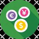 Yen Dollar Euro Icon