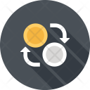 Currency Exchange Convert Icon