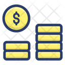 Currency Coins Coins Stack Icon