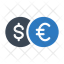 Dollar Euro Cash Icon