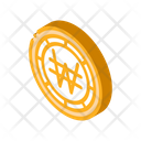 Currency Exchange Krw Icon