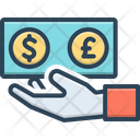 Currency Cash Finance Icon