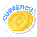 Dollars Currency Finance Icon