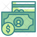Currency Cash Card Icon