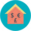 Currency Home House Icon