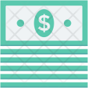 Currency Stack Dollar Icon