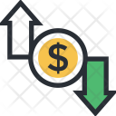 Currency Exchange Value Icon