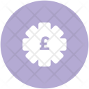 Currency Settings Pound Icon