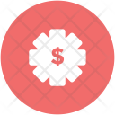 Currency Settings Dollar Icon