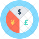 Currency Graph Pie Icon