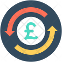 Currency Exchange Pound Icon