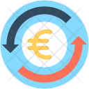 Currency Exchange Euro Icon