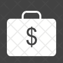 Currency Briefcase Job Icon