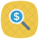 Currency Find Finance Icon