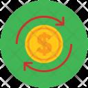 Currency Dollar Sync Icon