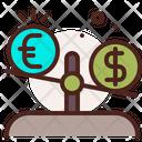 Currency Balance Balance Scale Icon