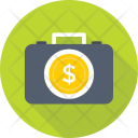 Currency Briefcase Icon