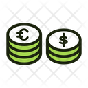 Financial Coin Money Coin Currency Coin Icon