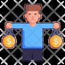 Currency Comparison Icon