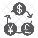 Currency Exchange Financial Icon