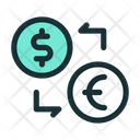 Exchange Rate Currency Icon