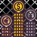 Cash Coin Money Icon