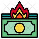 Currency Financial Crisis Icon
