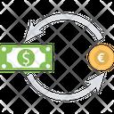 Currency Exchange Money Conversion Money Exchange Icon