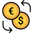 Exchange Money Euro Icon