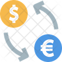 Balance Currency Exchange Euro Icon