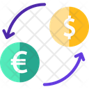 Currencyv Currency Exchange Euro Icon