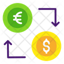 Currency Exchange Currency Convertor Money Transfer Icon