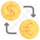 Online Shopping Currency Exchange Money Icon
