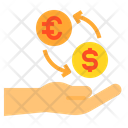 Currency Exchange Finance Icon