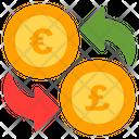 Currency Exchange Exchange Euro Icon