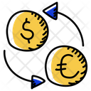 Currency Exchange Dollar Exchange Money Exchange Icon