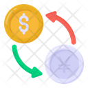 Cash Exchange Currency Exchange Money Exchange Icon