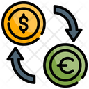 Currency Exchange Finance Money Icon