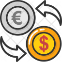 Currency Interlocking Money Icon