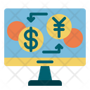 Currency Exchange Transfer Currency Exchange Icon