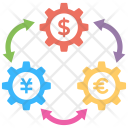 Currency Exchange Foreign Icon