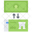 Currency Exchange Bank Icon