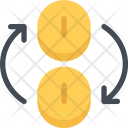 Currency Exchange Business Icon