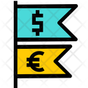 Currency flag Icon