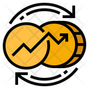 Currency Fluctuations Icon